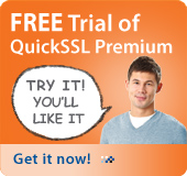 FREE Trial of QuickSSL Premium