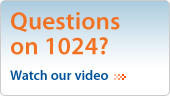 Questions on 1024? Watch our video.